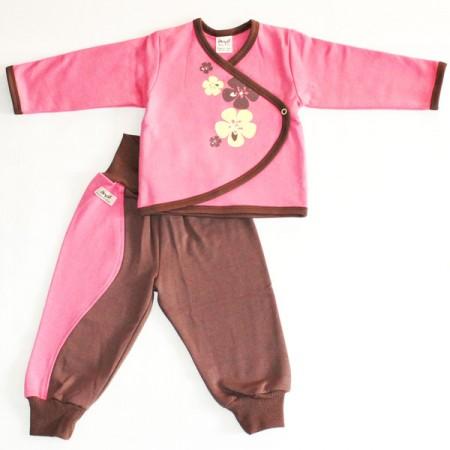 Комплект Емае Цветы розовый