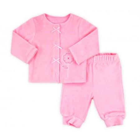 Комплект велюровый Crockid К 2359/нежно-розовый2