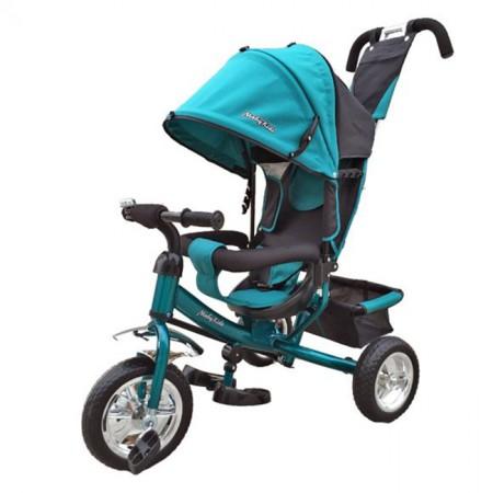 Велосипед трехколесный Moby Kids Comfort, аквамарин 635197