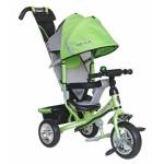 Велосипед трехколесный Moby Kids Comfort, зеленый 950D Green