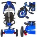 Велосипед трехколесный Moby Kids Junior-2 T300-2Blue